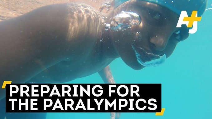 These kids aren't letting their disabilities get in the way of their big swimming dreams.