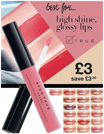 Avon True Colour Glazewear Lip Gloss