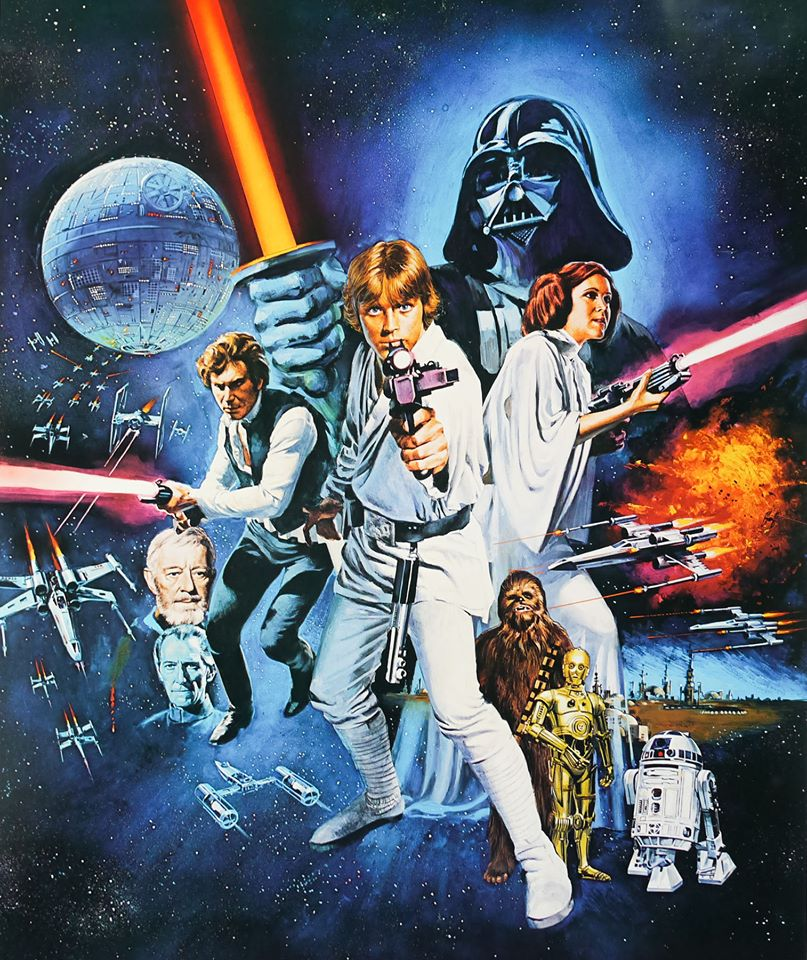 Forty years ago, in a movie theater far, far away... #GeorgeLucas&#39; #scifi epic, #StarWars, opens in US theaters. #StarWars40th #70s #otd<br>http://pic.twitter.com/EtVnf2nQ0T