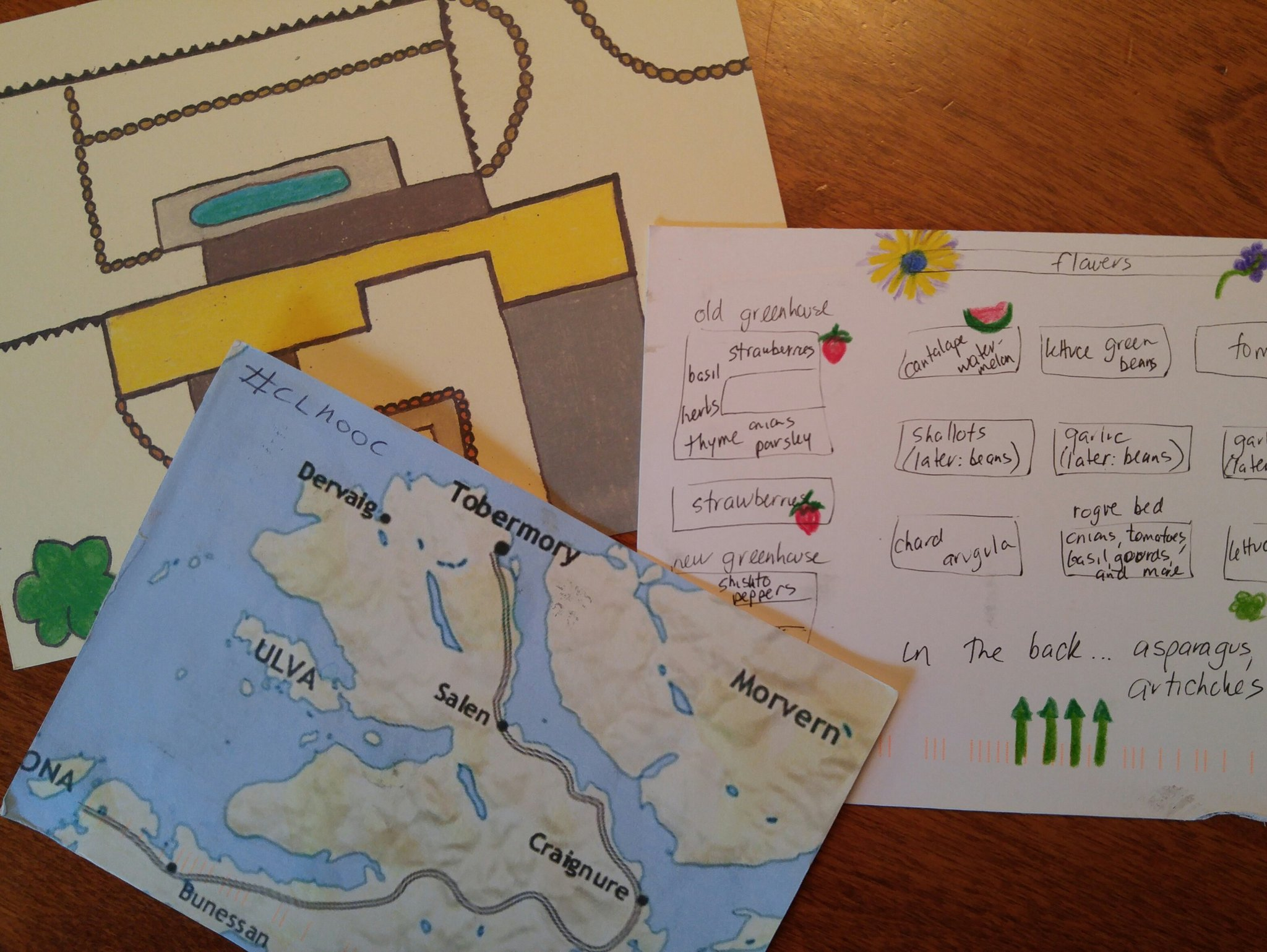 Another #clmooc #postcard bounty has arrived! Thanks, @NomadWarMachine, @kfasimpaur and Kristen! https://t.co/TunIQrpdpQ