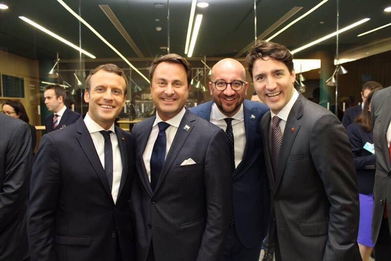 What a generation of great nations! #France #Luxembourg #Belgique #Canada .@YGLvoices .@EmmanuelMacron .@JustinTrudeau #Youth4Gov<br>http://pic.twitter.com/OXJ34j2wWt