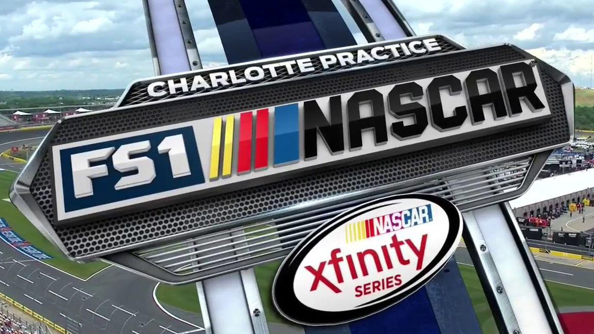 With new cup name and logo its time to go to work foxsports com - Nascar_xfinity Practice From Cltmotorspdwy Right Now On Fs1 And Http Foxsportsgo Com Pic Twitter Com I6owlis6pe