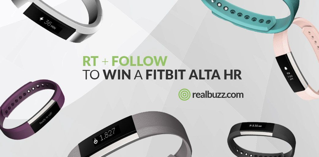 Want a free Fitbit Alta HR? Who wouldn't! RT &amp; Follow to enter our #competition and you could #win one. #realbuzzAltaHR<br>http://pic.twitter.com/tjl6qdyZ4p