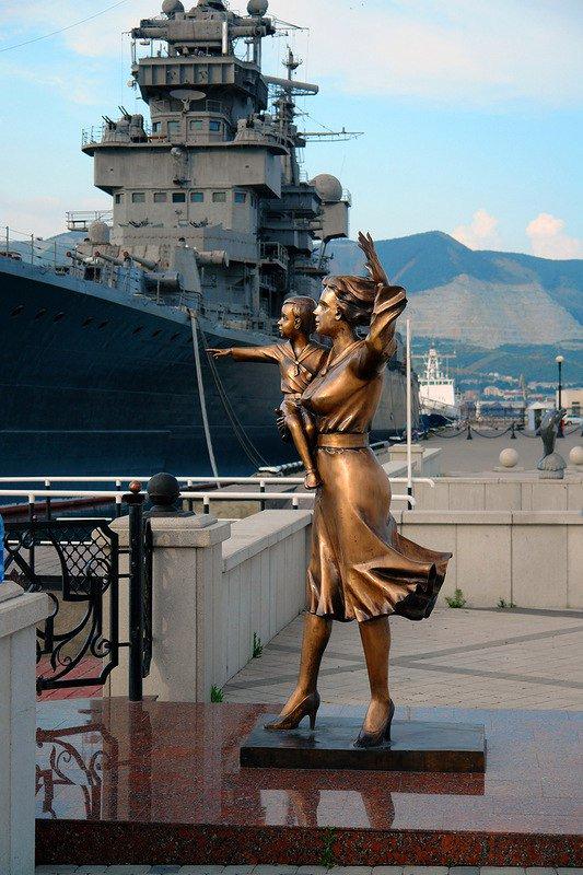 Открытки, картинки жене моряка
