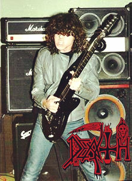 Chuck Schuldiner early 1987 DEATH performance debut album 30 years ago &quot;Scream Bloody Gore&quot; era  #DeathMetal #OldSchool #USA #80s <br>http://pic.twitter.com/GugvST1TrM