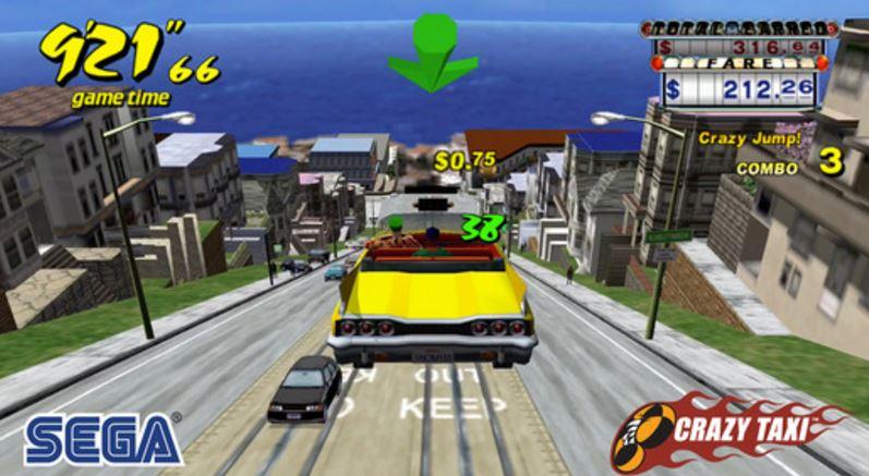 El Juego Crazy Taxi Pasa De 4 99 Euros A Estar Gratis En La App