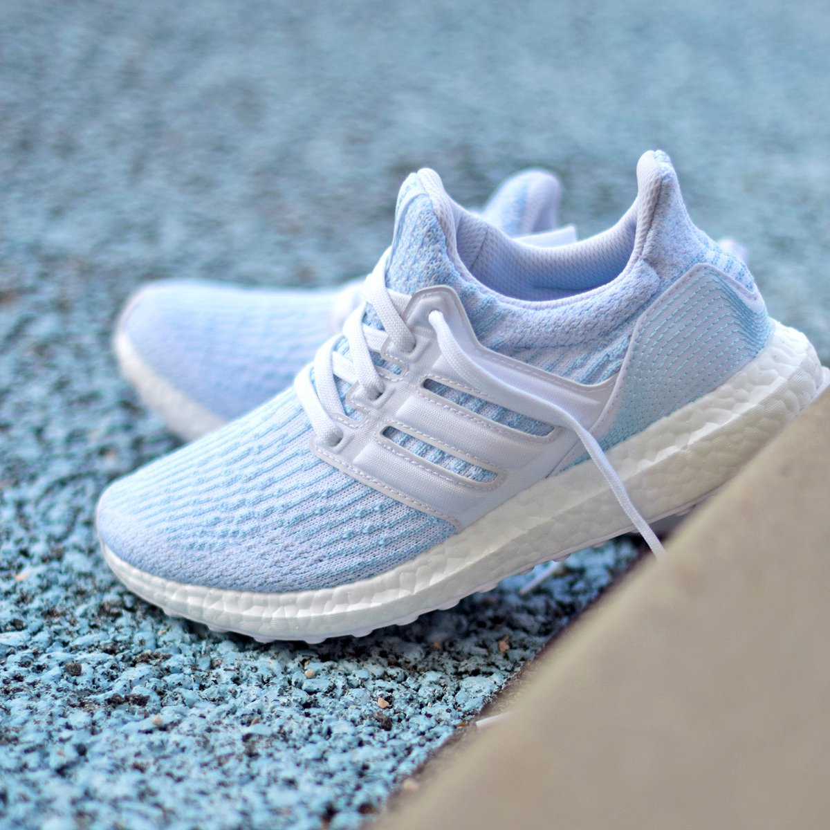 "82f17f487 First look at the upcoming ""Ice Blue"" Parley x adidas Ultra Boost 3.0"