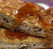 Banana-Raisin French Toast