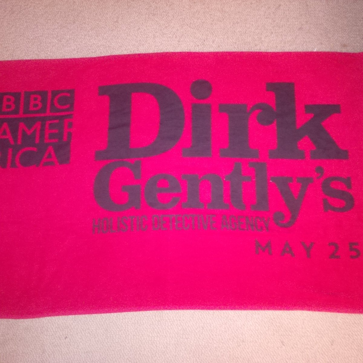 On this day of towel..@DirkGentlyBBCA #TowelDay https://t.co/BFfJXXkyMr