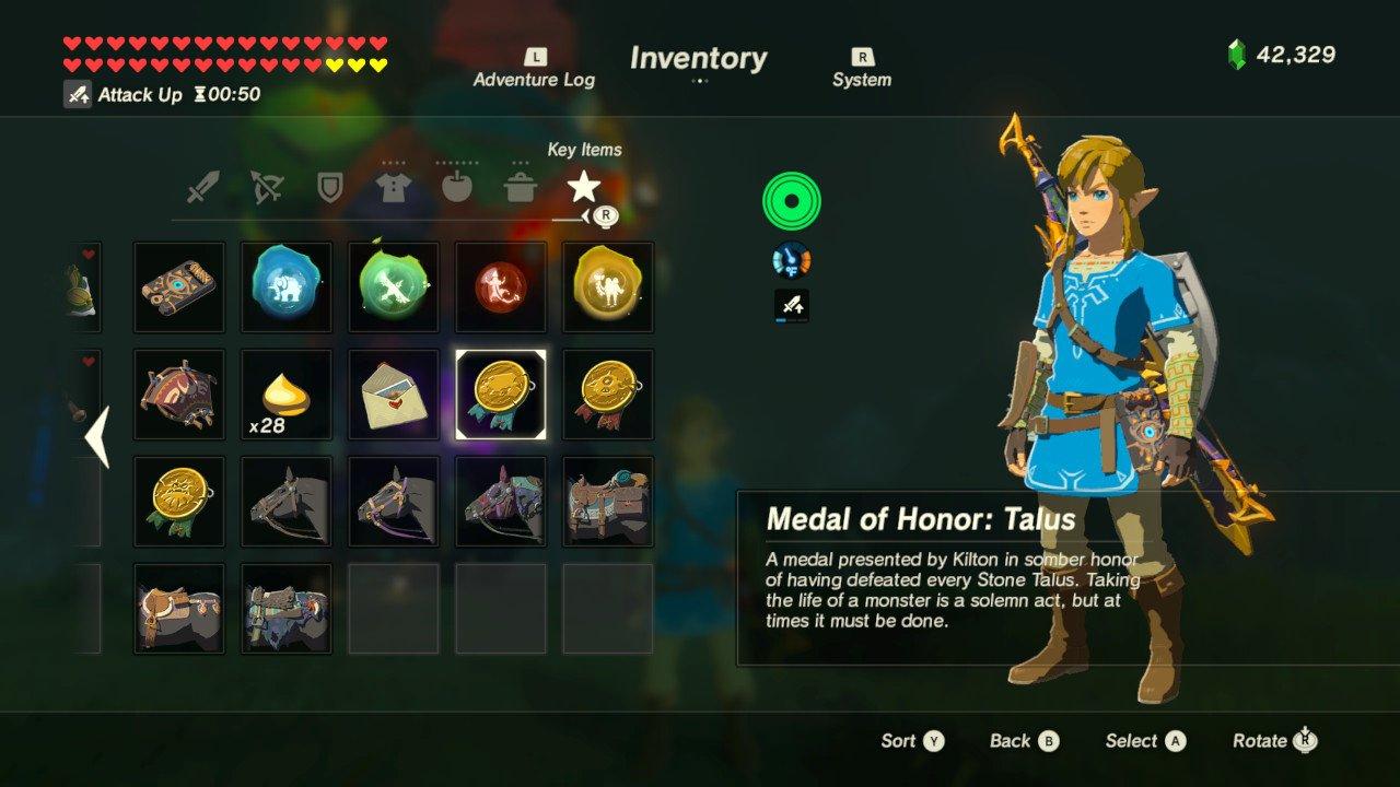 Spoilers Official Legend Of Zelda Breath Of The Wild