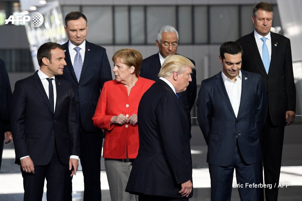 Trump says 'Germans are very bad' - says its millions of car sales in US will 'stop', Spiegel reports https://t.co/ZpFVdNAwyT
