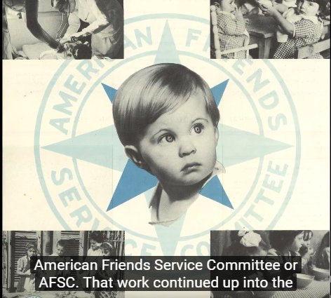 WATCH: On @HolocaustMuseum collection from #Quaker relief org @afsc_org, rescuing Jewish #refugees  https:// youtu.be/OdJ4WuSJzQo  &nbsp;   w/ @arecoleman<br>http://pic.twitter.com/LmCanDPFcs
