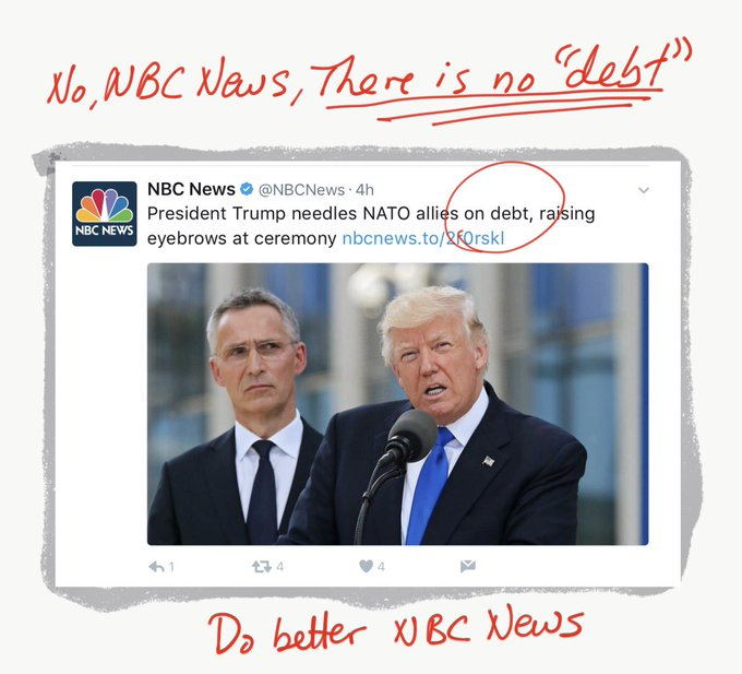 You're complicit in fake news with this garbage, @NBCNews