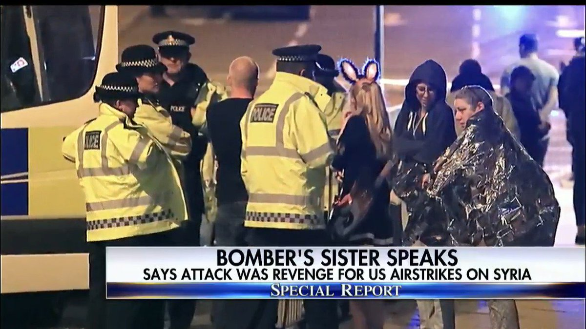 Bomber's sister speaks - says attack was revenge for U.S. airstrikes on Syria. #SpecialReport