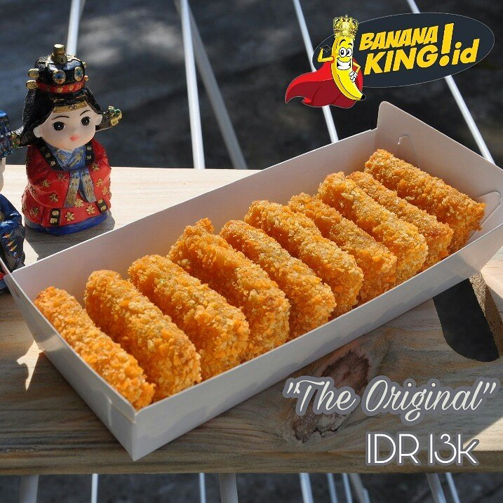Banana King Id On Twitter Crunchy Fried Banana Nugget New