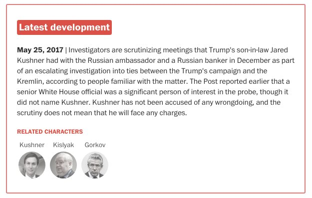 Jared Kushner is now a significant person of interest in the Russia investigation. https://t.co/kIsj4vBspJ