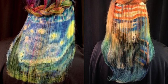 This Colorist Turns Hair into LITERAL Works of Art