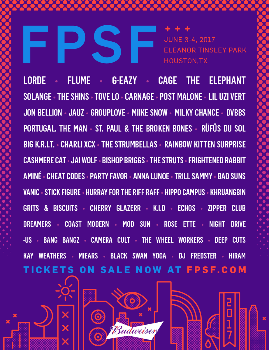 Texas! We've got a pair of passes for FPSF Fest in Houston coming up. RT for a chance to win them! https://t.co/U7UZIsCNDL