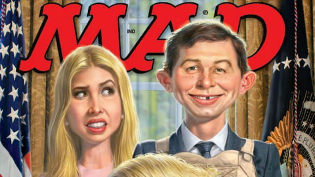 Jared Kushner featured on the next Mad Magazine cover https://t.co/rDO...