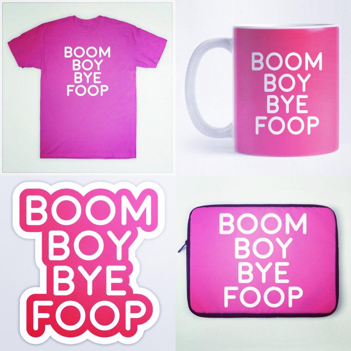 Boy Bye Boom Foop Stuff available at https://t.co/Hee5HoZfUL our @TeePublic page enjoy! #boomboybyefoop https://t.co/kwrg9u2s90