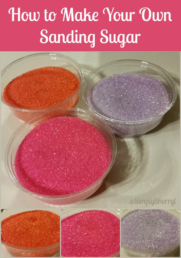 Make your own sanding sugar. Super easy to make and my kids love it on their food.   @SimplySherryl #DIY #food   http:// ow.ly/IRbh309zC6D  &nbsp;  <br>http://pic.twitter.com/Wd4toPvCV7