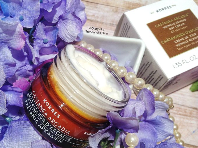 Korres Winter Skincare: Golden Krocus Elixir & Castanea Arcadia Day Cream Review