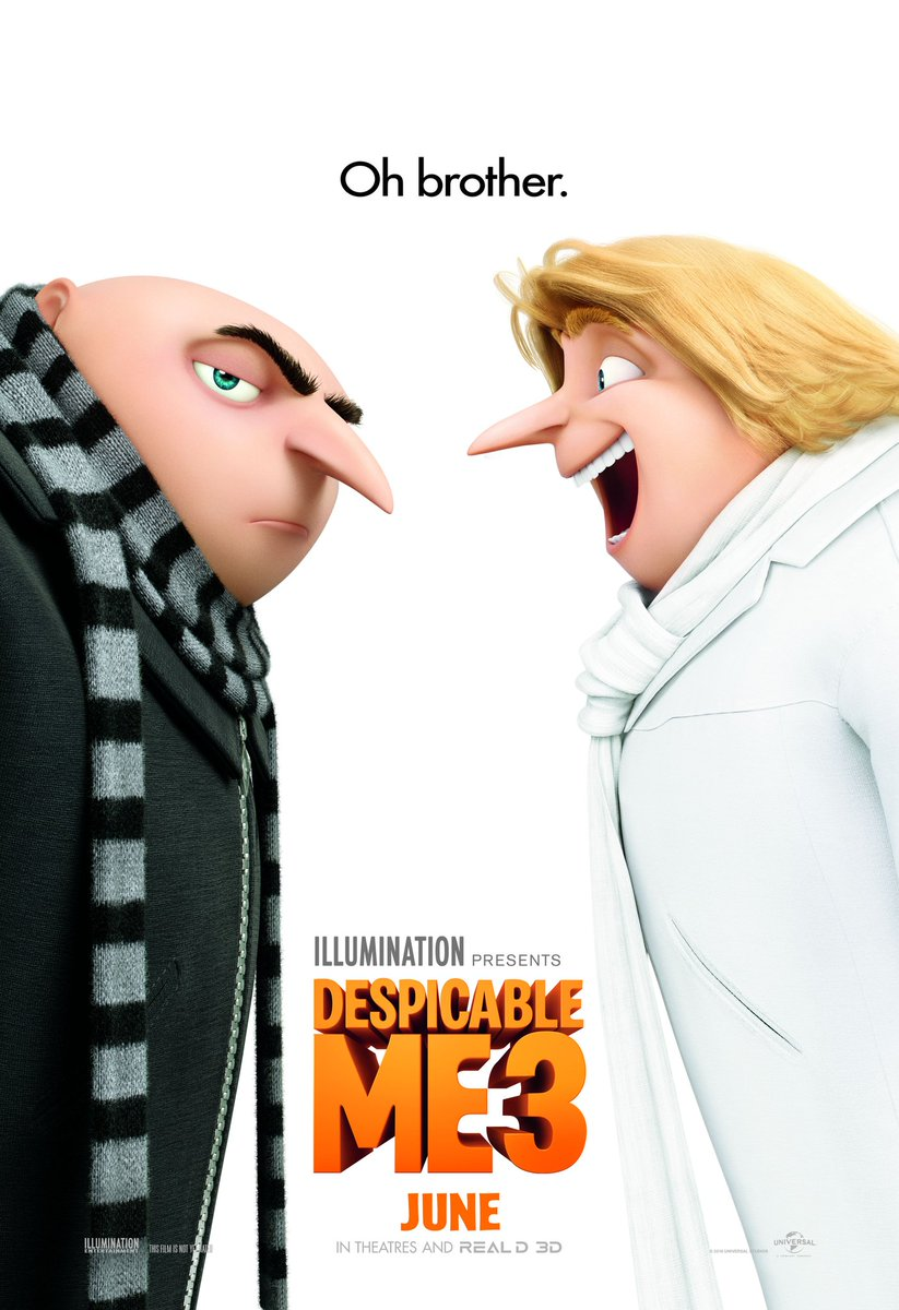 Enter to #win Advance Passes to see #DespicableMe3!  Please read instructions carefully: https://t.co/Y1EVsQTHG1 https://t.co/zhWZsgFQnQ