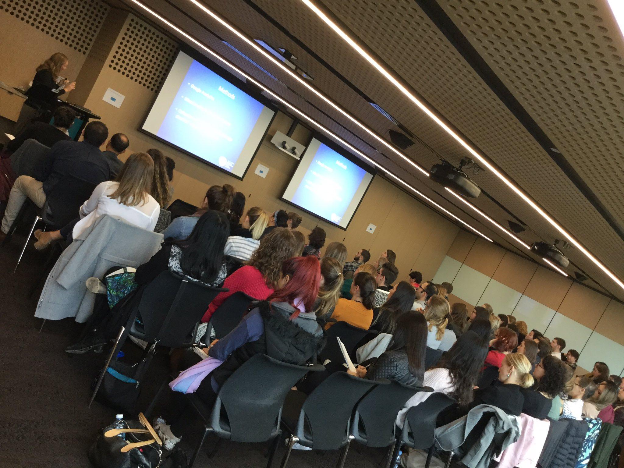 Great crowd at #mhotsymp2017 listening to amazing work done by mental health OTs @DeakinHealth @otaust @Rachel_King_1 @DanielleHitch https://t.co/DVYSUTwA8L