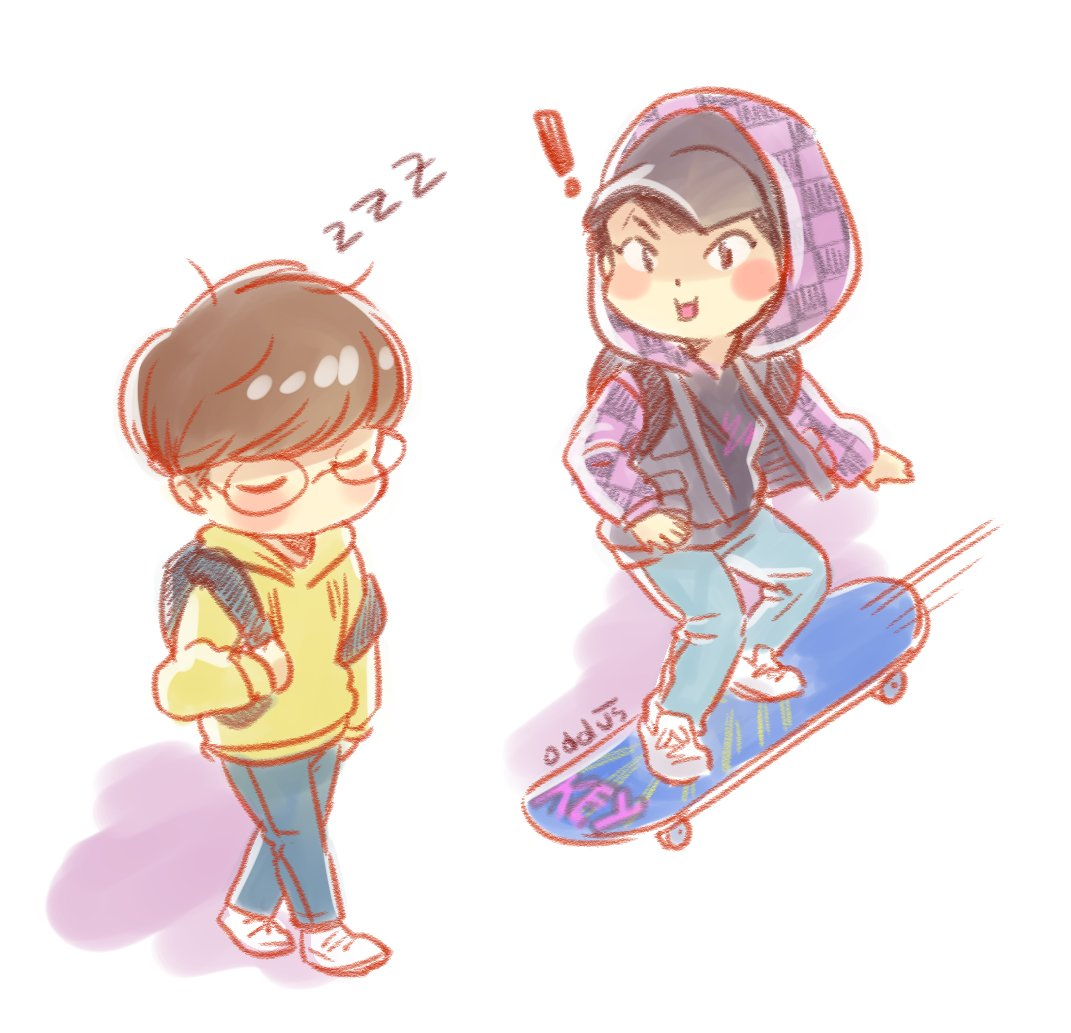 hacker!kibum &amp; engineering-student!jinki, prompted by @ohnewkey #onkey #onew #key good luck WITH your dramas! <br>http://pic.twitter.com/qBUUfb8A8Q