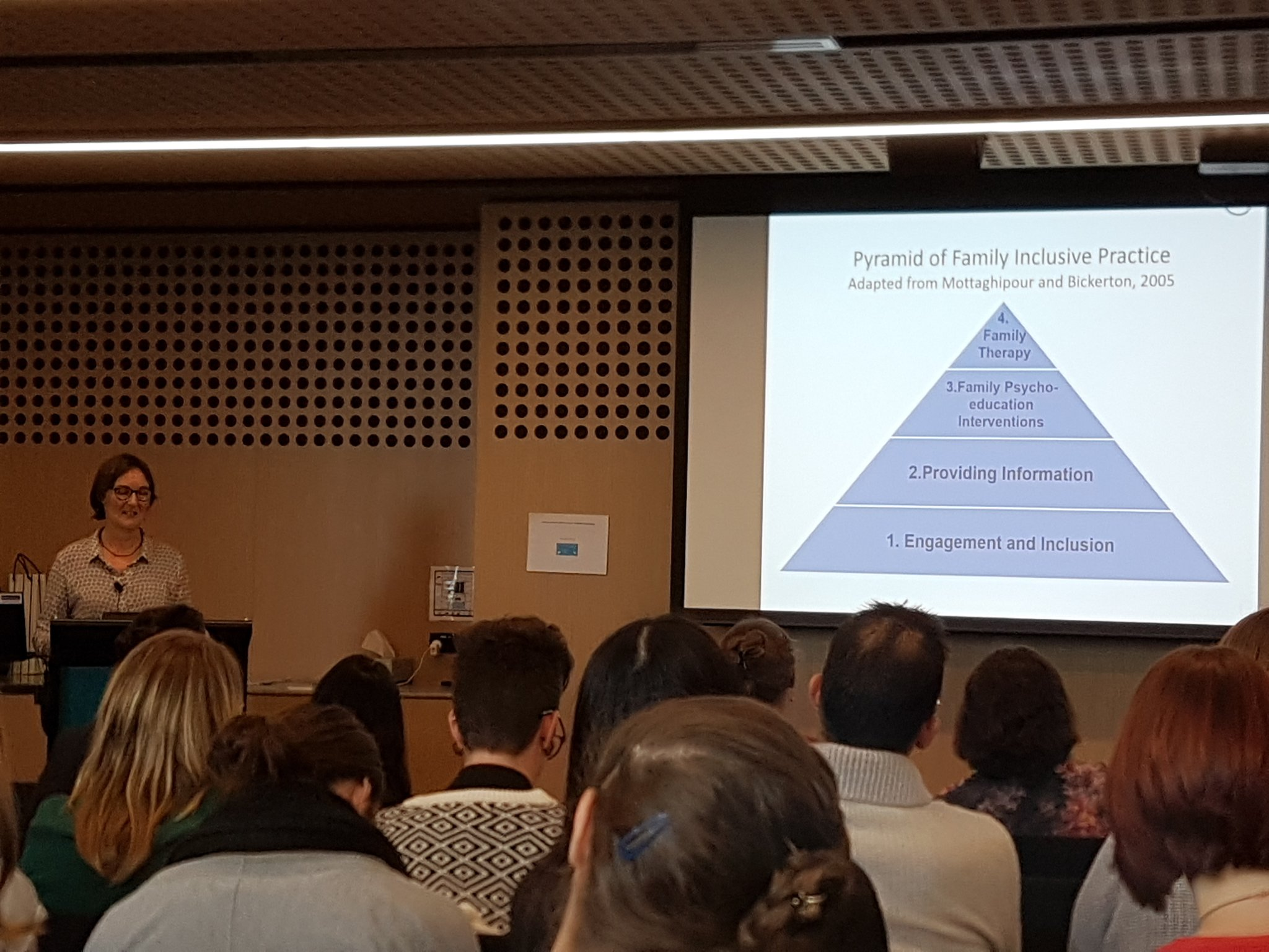 #mhotsymp2017 The pyramid of family inclusive practice - key practice resource @headspace_aus https://t.co/ZpF5wo2pcM