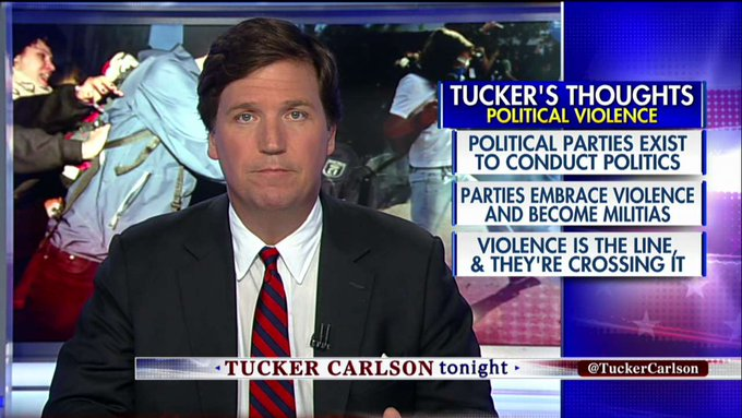 'The Left Has Gone Insane': @TuckerCarlson on Progressives' Use of Political Violence #Tucker https://t.co/pucqj7Mhqc
