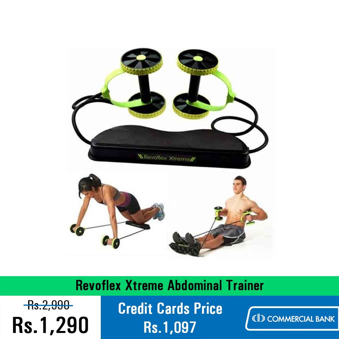57% OFF! Revoflex Xtreme Abdominal Trainer for just Rs.1,290 ONLY!  Buy Now : https://t.co/3k0P6X4DuC https://t.co/jOYTWsUX4q