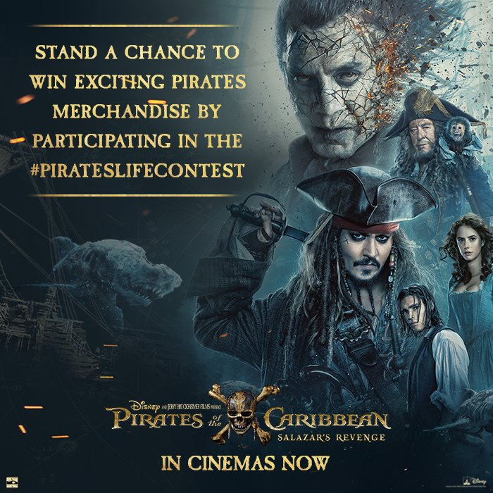 New contest alert! Stand another chance to win some #POTC merchandise by taking part in the #PiratesLifeContest. Stay tuned for more.<br>http://pic.twitter.com/M9gMLsyHOh