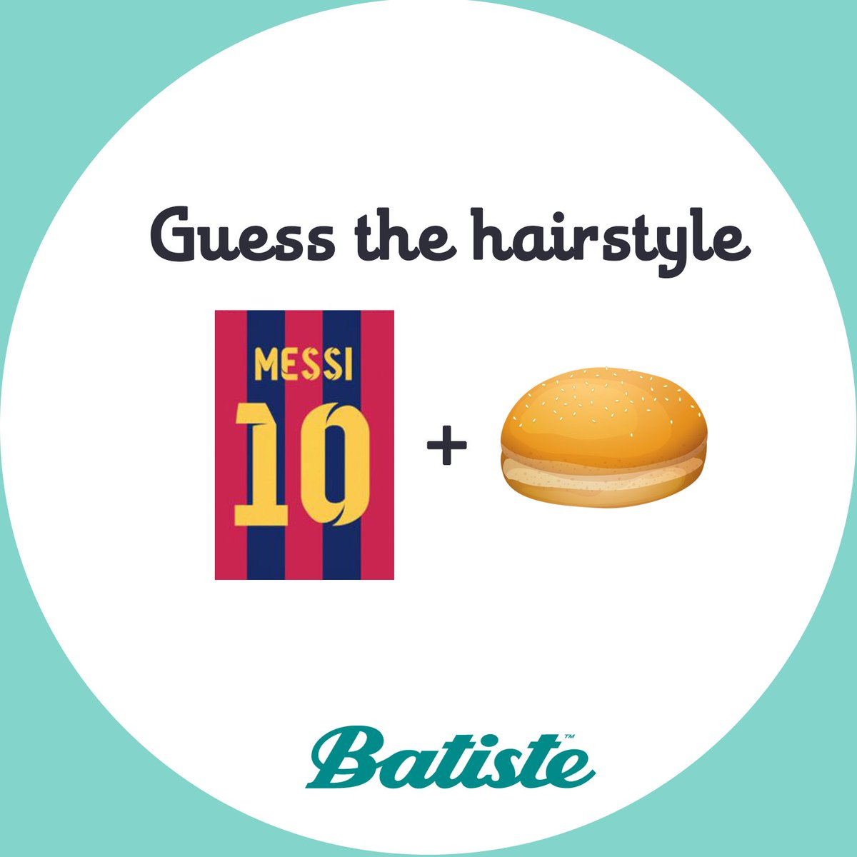 We are in the Football zone, guess this hairstyle to win #batiste goodies! #Contest #ContestAlert #dryshampoo #hairstyle #hair #haircare<br>http://pic.twitter.com/O58MpPxHlI