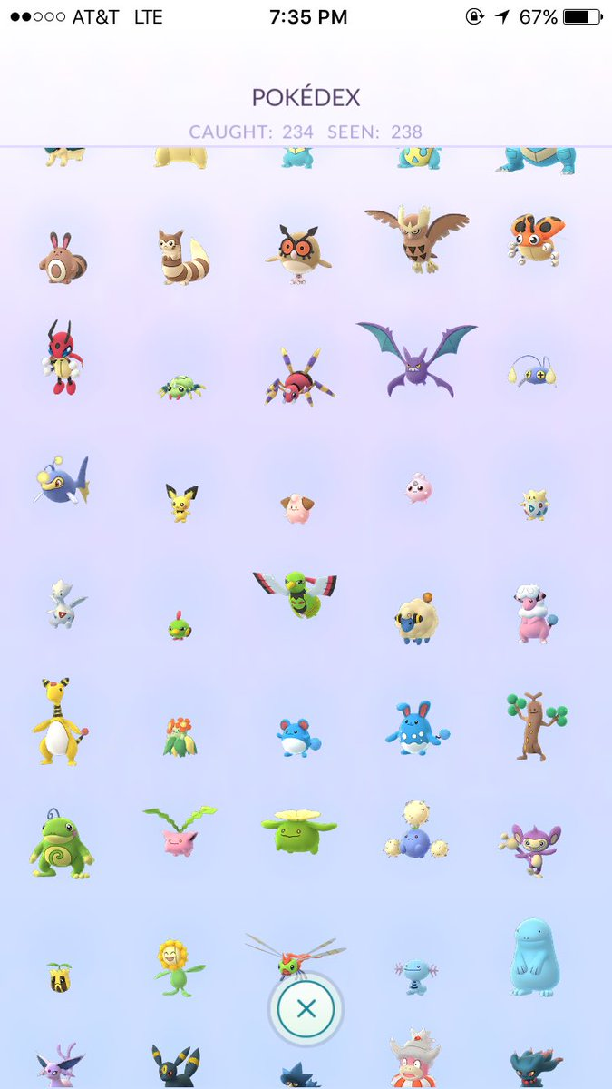 i almost have every pokemon in pokemon go again https://t.co/YYzMBaOO4...