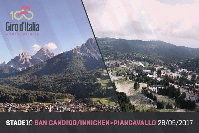 GIRO d'Italia 2017 San Candido Piancavallo Streaming Gratis Tappa 19: altimetria, mappa percorso, ultimi km in Diretta Rai, dove vederla in TV