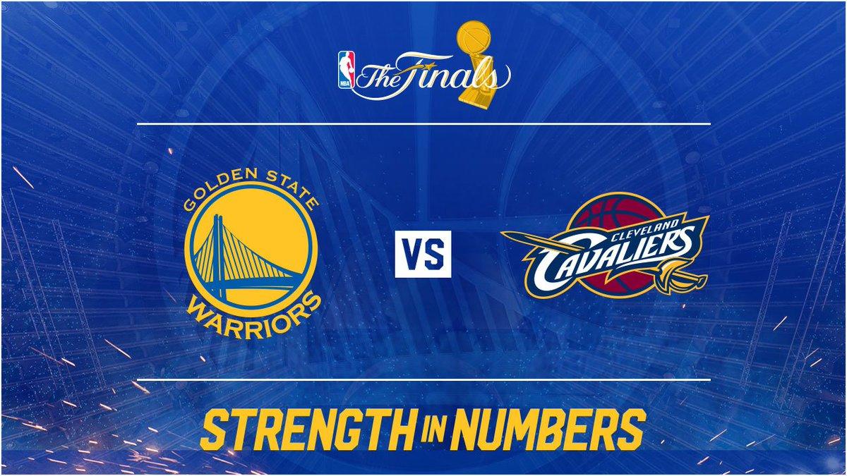 We meet again, @Cavs. #NBAFinals #StrengthInNumbers https://t.co/BqCIu...