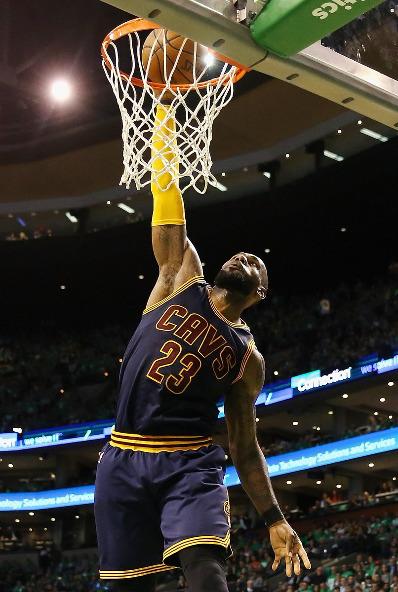 The @cavs are the Eastern Conf. champs!   CLE defeats BOS 135-102 &amp...