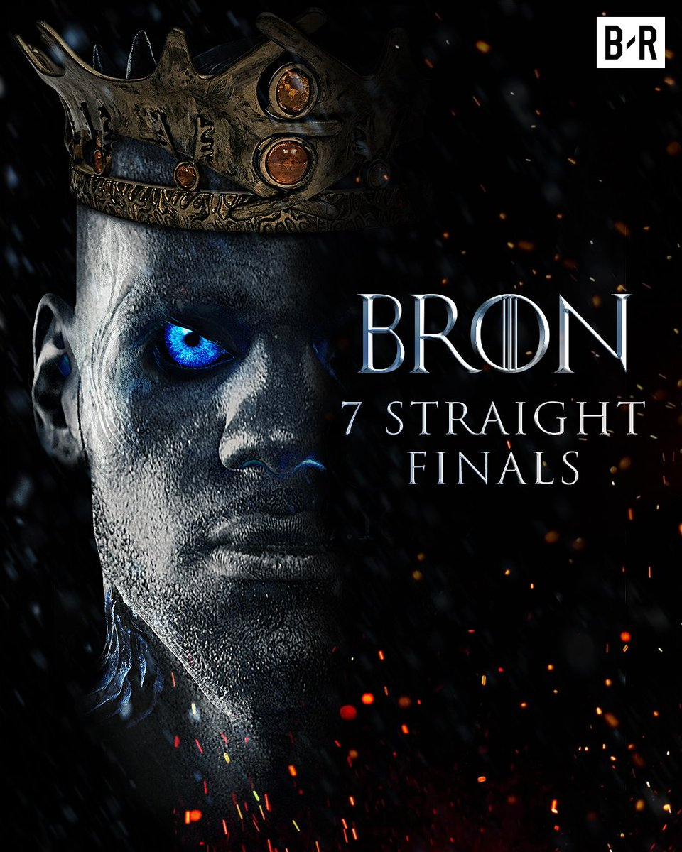 7 straight Finals for The King.