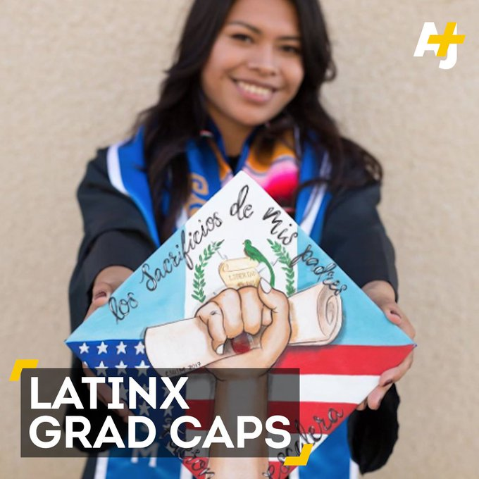 These Latinx grads are making some amazing artwork out of their grad caps 🎓