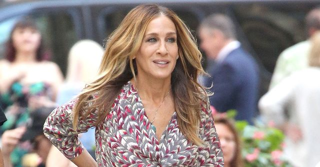 "SJP Debuted Her First ""Sneaker"" Design, and Obviously It's Sparkly"