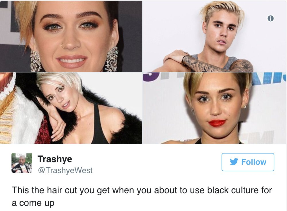 The haircut celebs accused of cultural appropriation ALL get. https://t.co/QE043KwRv5 https://t.co/6s2qCVKhlS