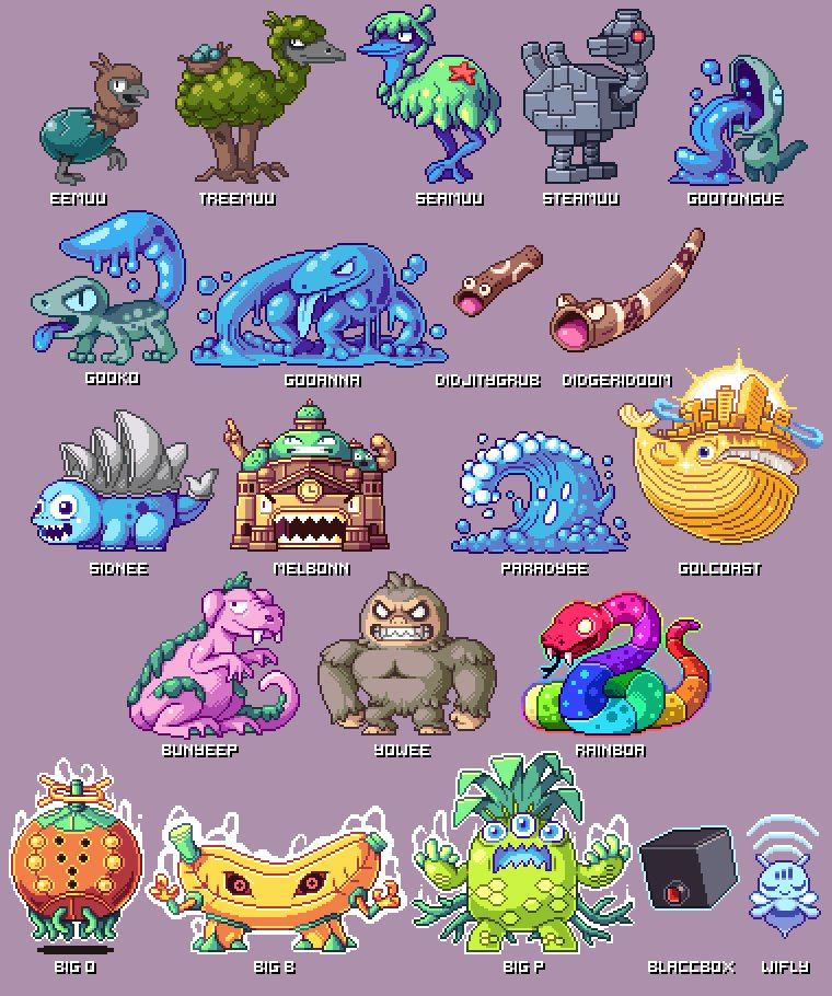 These Australian versions of Pokémon are truly magnificent