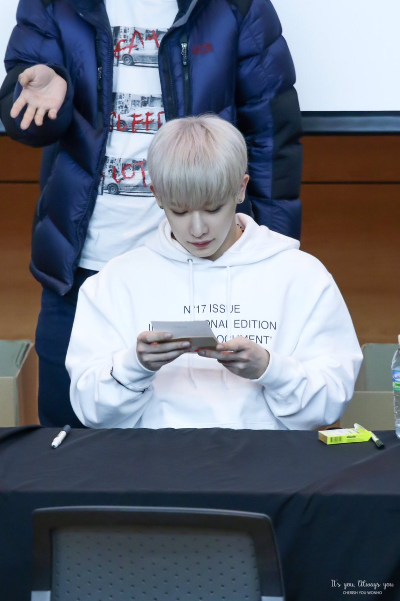 170401  I don&#39;t know how much about love, but I know... &quot;WHO&quot; I like.  #원호 #WONHO  #아름다워 #BEAUTIFUL  #몬스타엑스 #MONSTA_X  @OfficialMonstaX<br>http://pic.twitter.com/px7yFUCFJe