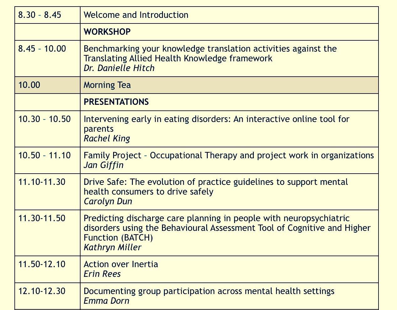 What a great morning at Mental Health OT Symposium #mhotsymp2017 @otaust @otaust_vic @DeakinHealth https://t.co/NCv1rqdkB6