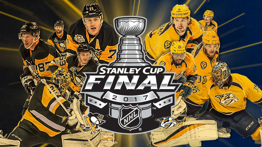 The 2017 #StanleyCup Final. https://t.co/BbyqVrQ3U4