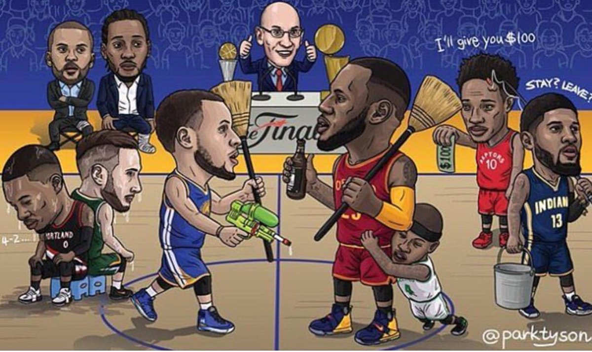 Let's get ready to rumble!!! Cavs or warriors? Make your predication!!!