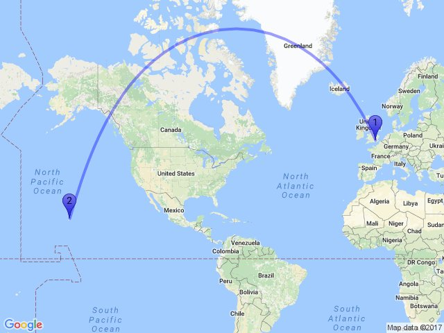 random distance on twitter the distance between hounslow uk and paauilo hi 96776 usa is 11699km maps gis earth
