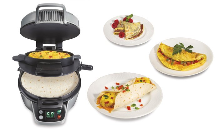 RT + Enter to #Win a @HamiltonBeach #BreakfastBurrito Maker from @JustFreeStuff #Giveaway  | ARV $45 | ENTER HERE &gt;&gt;  https:// wn.nr/Aqj3G8  &nbsp;  <br>http://pic.twitter.com/hOszZ4kTfE