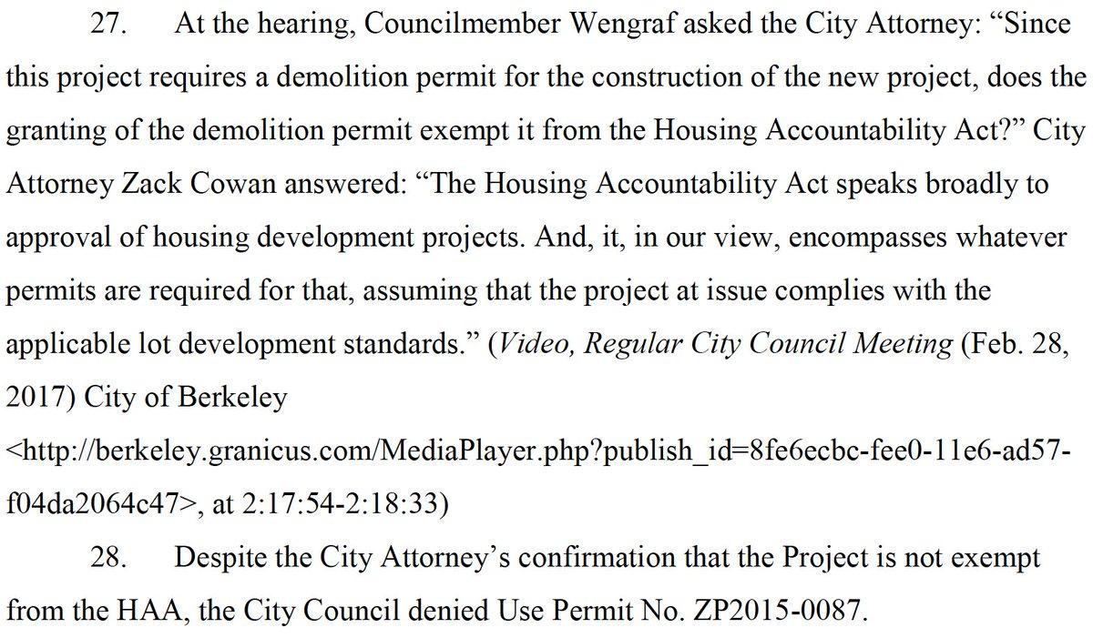 Brian Hanlon On Twitter Berkeley Willfully Violated The Housing